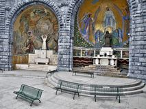 Peregrinaje católico Imagenes de archivo