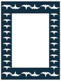 Peregrine frame Royalty Free Stock Image