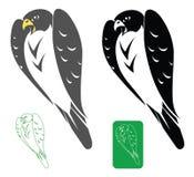 Peregrine valk vector illustratie