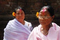 Peregrino em India foto de stock
