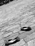 Peregrino en Santiago Fotografía de archivo libre de regalías