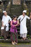 Peregrino tradicional del Balinese Fotografía de archivo