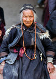 Peregrinos em Lamayuru, Índia Fotografia de Stock
