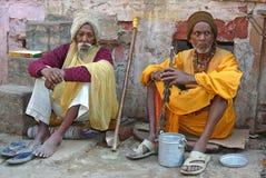 Peregrinos indios Imagenes de archivo