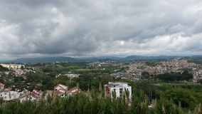 Pereira. City view with vegetation Royalty Free Stock Images