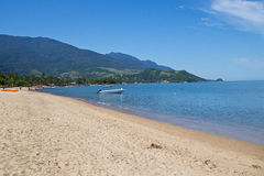 Pereque's beach, Ilhabela - Brazil Stock Photography