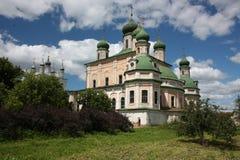 Pereslavl. Goritskii klosterUspensky domkyrka Royaltyfria Foton
