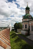 Pereslavl. Goritskii Monastery, Uspensky Cathedral Stock Images
