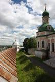 Pereslavl. Monasterio de Goritskii, catedral de Uspensky Imagenes de archivo