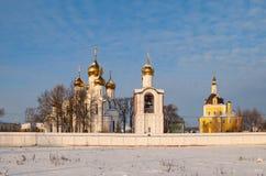 Pereslavl Zaleski in winter Royalty Free Stock Photography