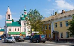 PERESLAVL-ZALESSKIY, RUSIA - julio de 2016: La iglesia de St Simeon en Pereslavl-Zalessky Imagenes de archivo