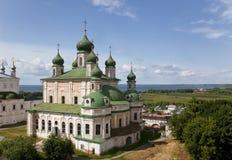 Pereslavl Zalessky。Goritsky修道院 库存照片