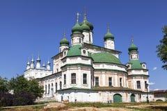 Pereslavl-Zalessky Монастырь Goritsky предположения Собор предположения, зона Yaroslavl Стоковое фото RF