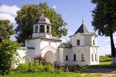 Pereslavl Zalessky Fedorovsky monastery of the Holy gates Royalty Free Stock Images
