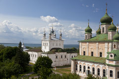 Pereslavl Zalessky. The Goritsky monastery Stock Photography