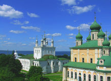Pereslavl-Zalessky. The Kremlin cathedrals in the city of Pereslavl-Zalessky (Russia Stock Images