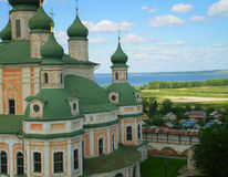 Pereslavl-Zalessky. The Kremlin cathedrals in the city of Pereslavl-Zalessky (Russia Stock Photography