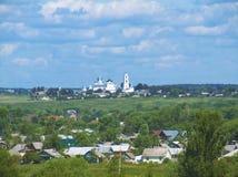 Pereslavl-Zalessky. Panorama of the town Pereslavl-Zalessky (Russia Stock Image