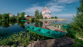 Pereslavl-Zalessky town in Russia. Royalty Free Stock Photo