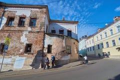 Pereulok de Khokhlovskiy Imagens de Stock Royalty Free
