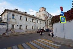 Pereulok de Khokhlovskiy Imagem de Stock