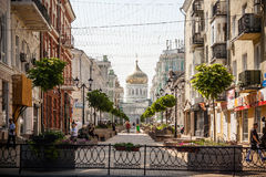 Pereulok Rostov-On-Don di Soborniy Fotografie Stock