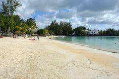 Pereybere public beach Royalty Free Stock Photo