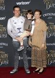 Perez Hilton, Teresita Lavandeira och Mario Armando Lavandeira III Royaltyfria Bilder