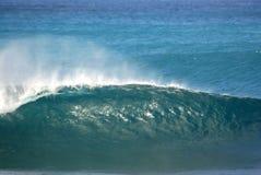 Perfeccione la onda fotografía de archivo