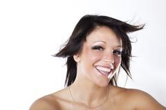 Perfeccione la sonrisa Imágenes de archivo libres de regalías