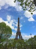 Eiffel is a super star royalty free stock photography