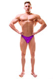 Perfect athletic body Royalty Free Stock Photography