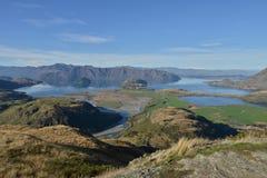 Perfect autumn landscape, Lake Wanaka Royalty Free Stock Image