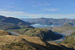 Perfect autumn landscape, Lake Wanaka Royalty Free Stock Images