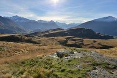 Perfect autumn landscape, Wanaka, New Zealand Royalty Free Stock Photos