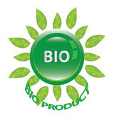 Perfect badge made for your bio products Royalty Free Stock Image