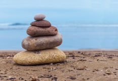 Perfect balance of the rocks Stock Photography