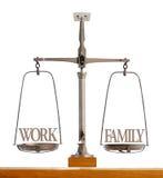 Perfect balance between work and family Stock Photos