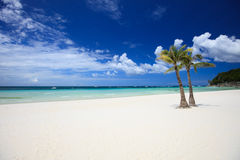 Perfect beach Stock Photography