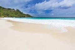Perfect Beach Anse Intendance, Mahe, Seychelles Royalty Free Stock Photography