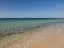 Perfect beach, Busselton, Western Australia. Perfect summer day at the beach, Geographe Bay, Busselton, Western Australia stock image