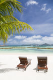 Perfect Beach, La Digue, Seychelles Royalty Free Stock Photo