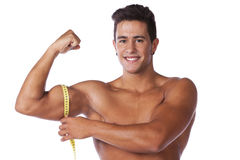 Perfect biceps Royalty Free Stock Image