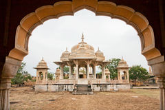 Perfect blending of Islamic architecture and Hindu temple architecture Stock Image