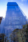 Perfect blue glass high-rise. Perfect blue glass high rise corporate building Stock Photography