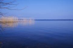 Perfect Blue Lake Stock Photo