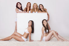 Perfect bodies in every size Stock Images