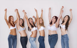 Perfect bodies in every size Royalty Free Stock Photo