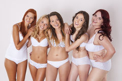 Perfect bodies in every size Royalty Free Stock Photography