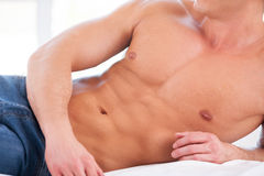 Perfect body. Royalty Free Stock Images